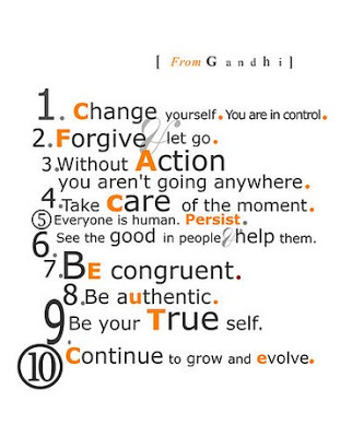 change yourself gandhi