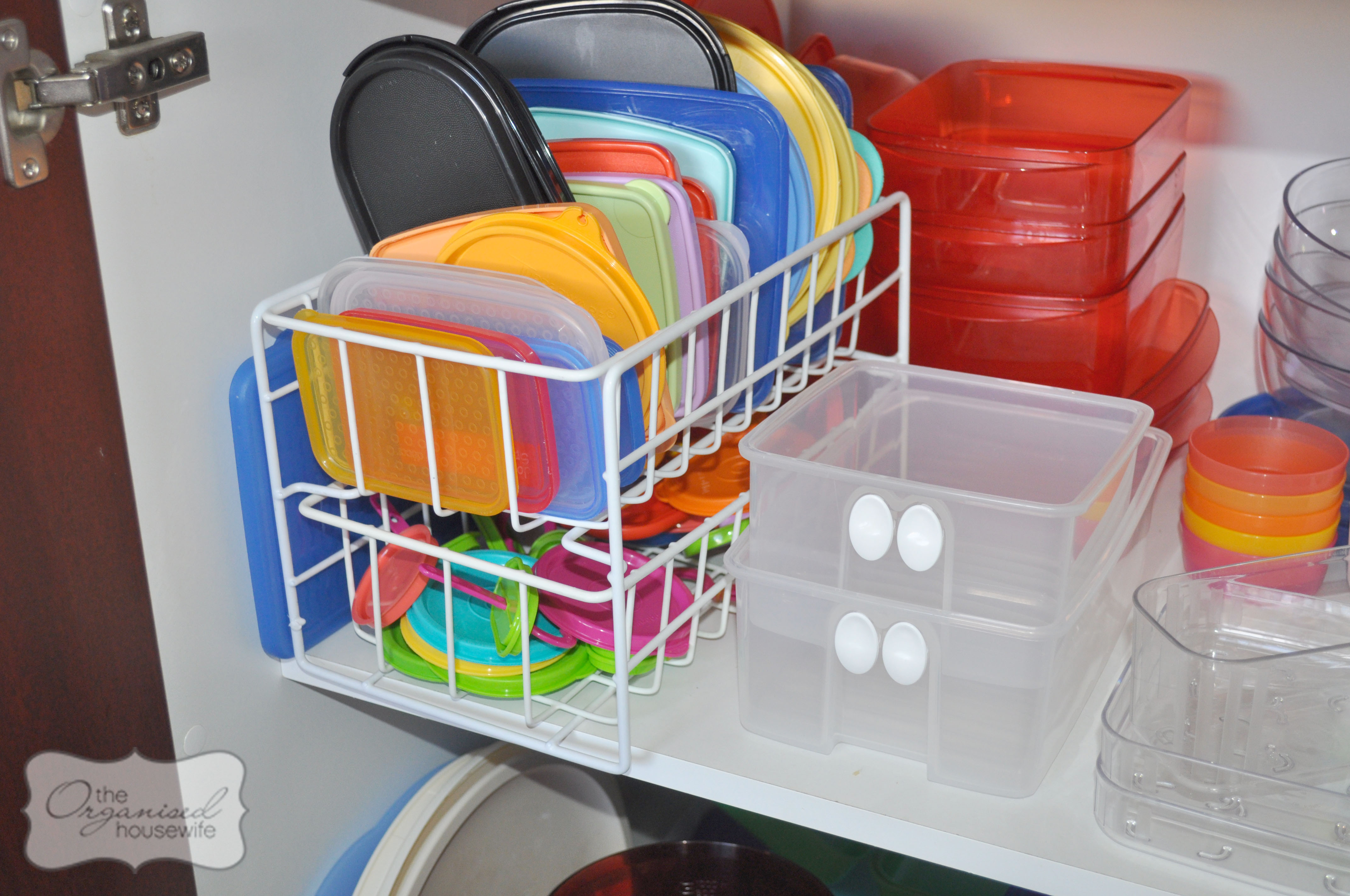 Bathroom cabinet organizer