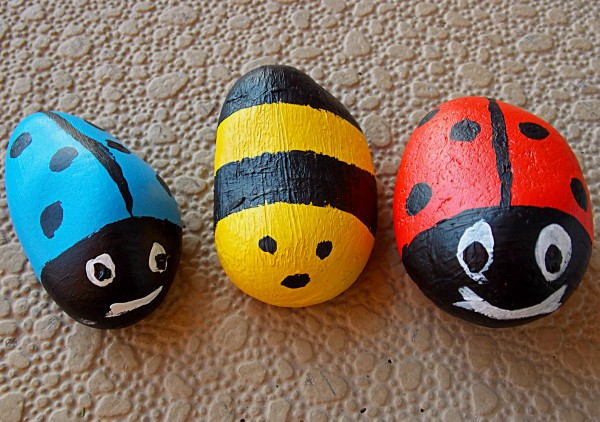 Kids Craft Activity - Pet Rock