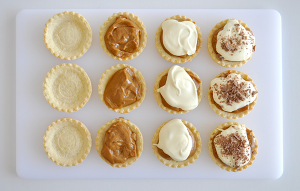 {The Organised Housewife} Super Easy Caramel Tarts 1