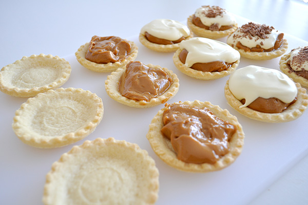 {The Organised Housewife} Super Easy Caramel Tarts 2