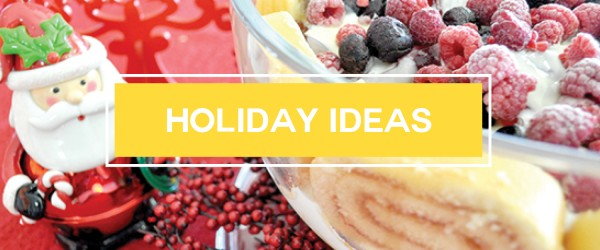 holiday meal recipe ideas