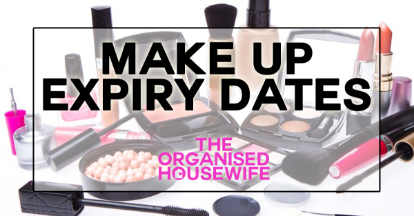 {The Organised Housewife} Make Up Expiry Dates