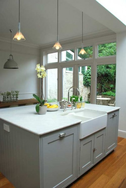 kitchen cabinets for less reviews declutter around your kitchen sink the organised 8034