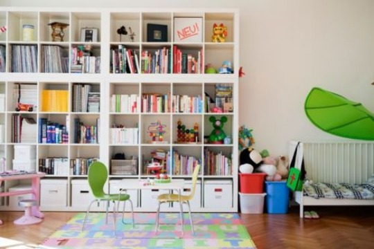 Children S And Kids Room Ideas Designs Inspiration: {Inspiration + Reader Photo's} More Ikea Expedit Ideas