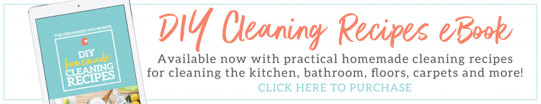 DIY cleaning recipes eBook