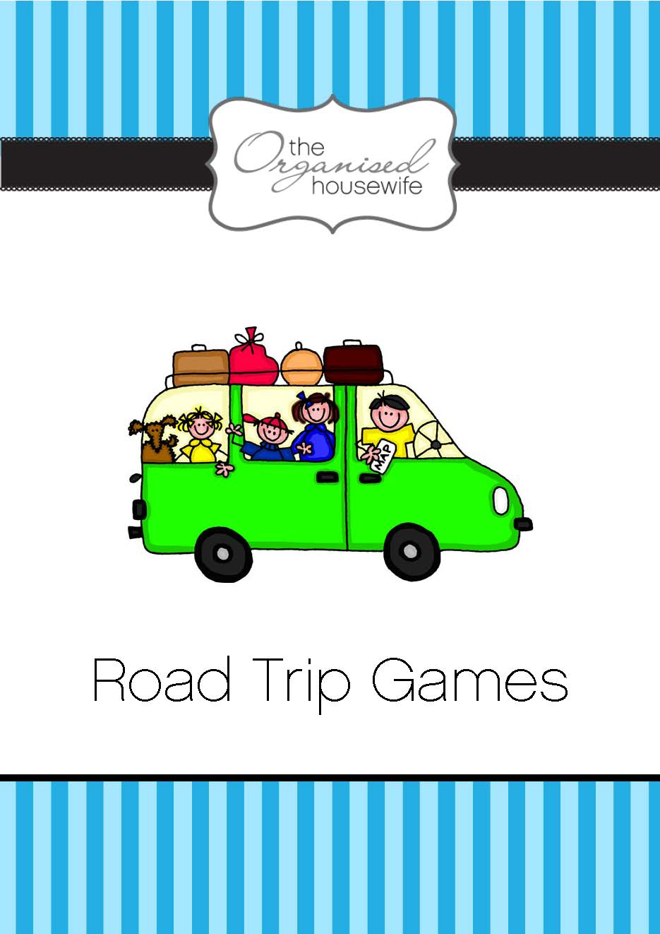 Aussie Road Trip Games The Organised Housewife