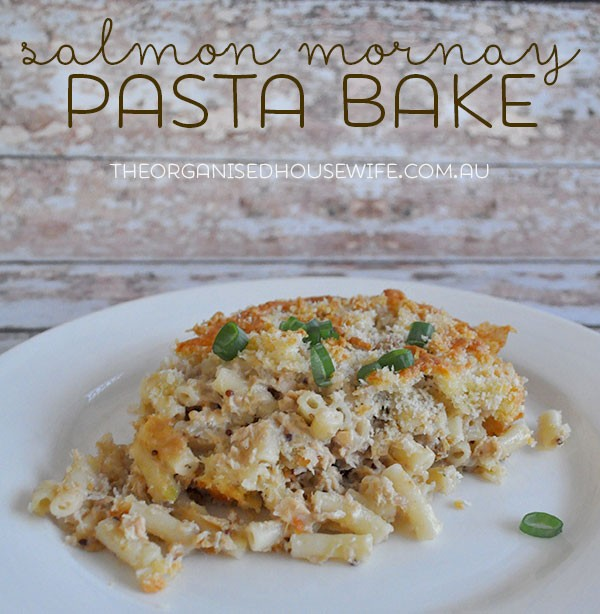 Fish Recipe Salmon Mornay Pasta Bake