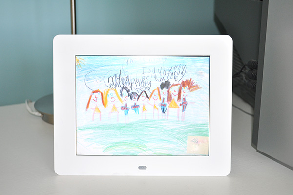 {The Organised Housewife} Storing Kids Artwork 2