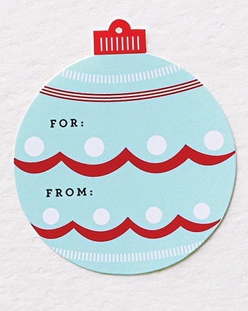 16 free printable christmas tags the organised housewife martha stewart negle Gallery