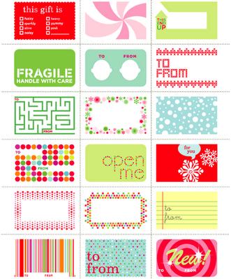 16 FREE Printable Christmas Tags – The Organised Housewife