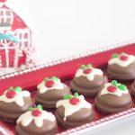 Cheats Mini Christmas Puddings