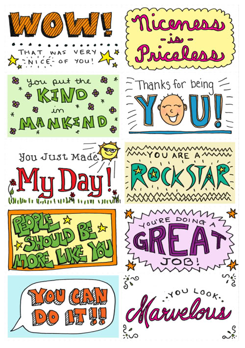 Free Lunch Box Note Printables Creating Fun Memories For
