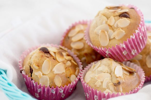 Banana-Choc-Chip-Almond-Muffins-FEATURE