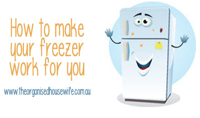 how to make your freezer work for you
