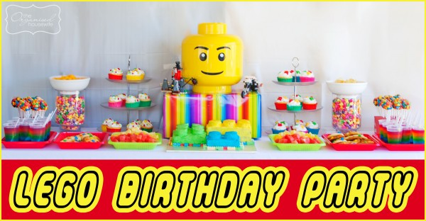 The Twins Parties} 2 parties in 1 day – Part 4: The Lego