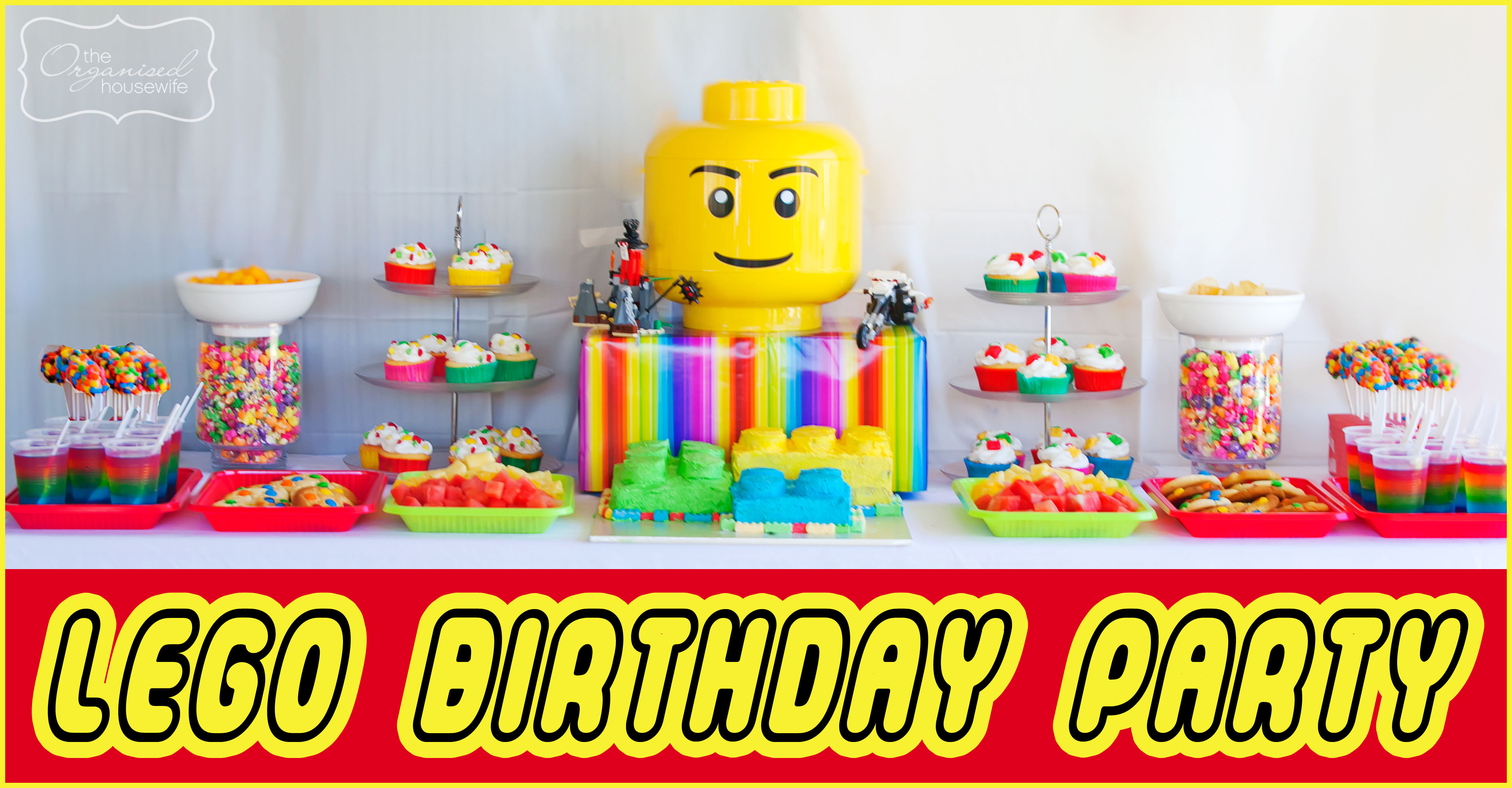 2 Parties In 1 Day Part 4 The Lego Birthday Party