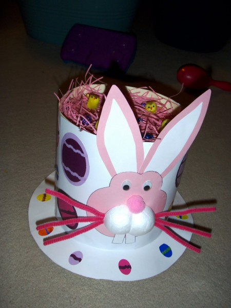how to make an easter bonnet for kids