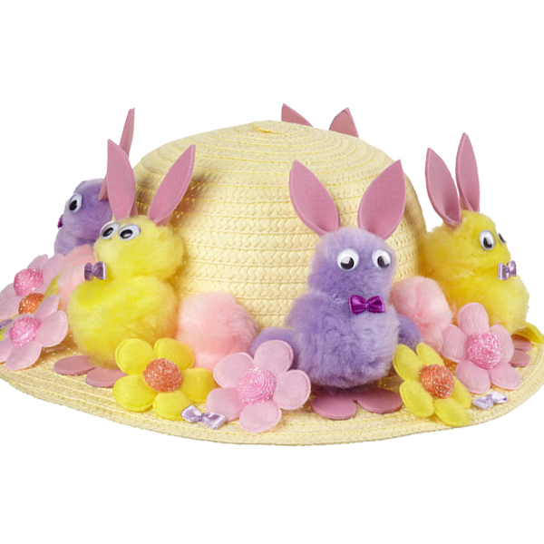 clipart easter bonnets - photo #44