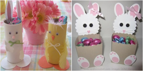 Easter craft ideas the organised housewife chocolate negle Images