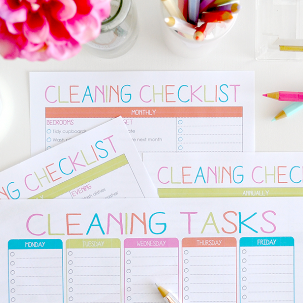 Cleaning Checklist - Design 2