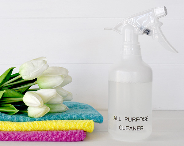 homemade all purpose cleaner task 13 declutter 52 things in 52 weeks challenge the 13312