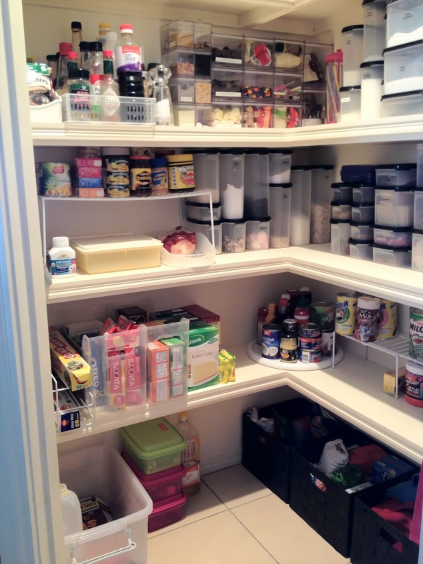 Storage Solutions For Organising The Pantry The