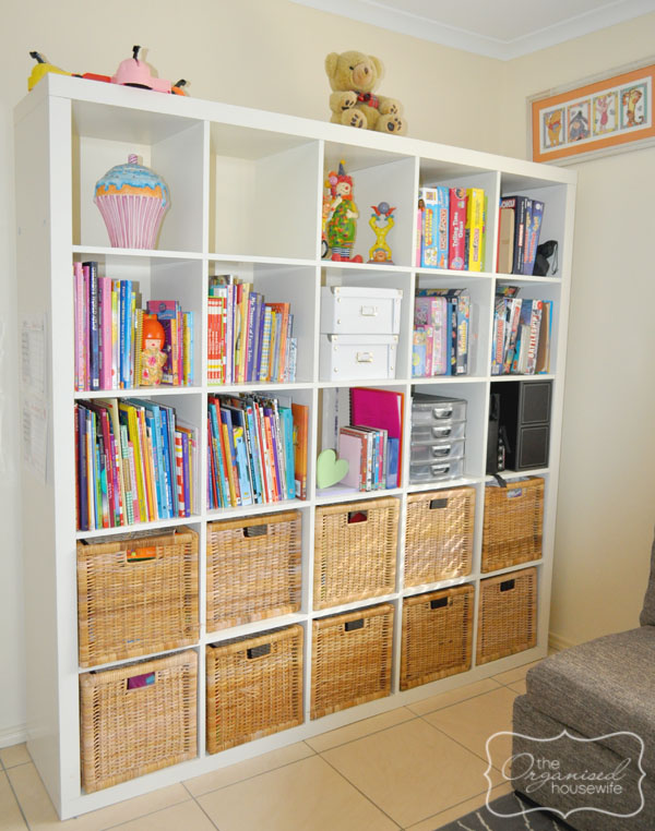 {The Organised Housewife} Toy Room