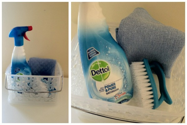 Shower Cleaning Tools Dettol Power And Pure Giveaway The Organised Housewife
