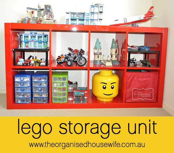 {The Organised Housewife} Boys Bedroom Lego Organising sorting 11