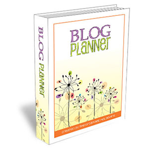 {The Organised Housewife} Blog Planner 300
