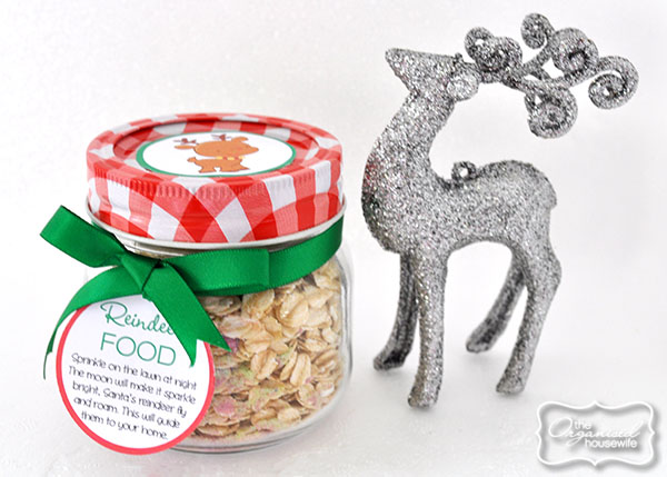 {The Organised Housewife} Reindeer Food Jars