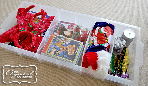 Organising And Storing Christmas Decorations The Organised Housewife