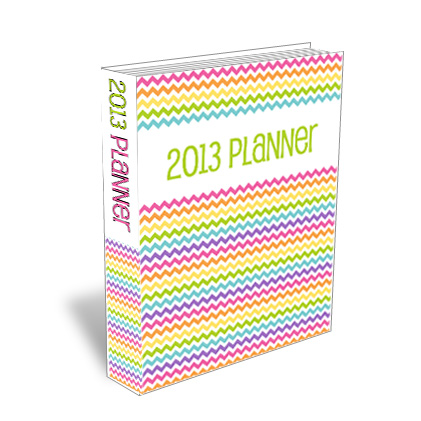 {The Organised Housewife} 2013 Planner Folder