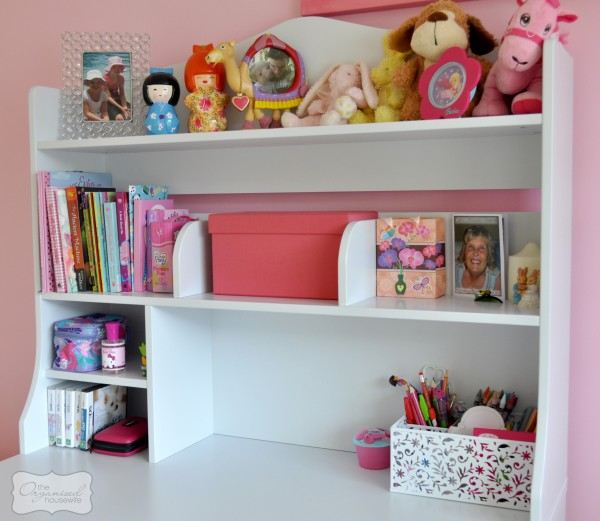 I wish I never bought desks for my kids bedrooms - The Organised ...