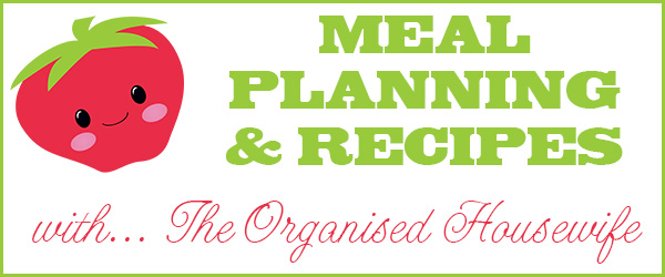 The Organised Housewife Meal Planning