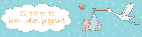 {The Organised Housewife} Baby - 12 things to know when pregnant