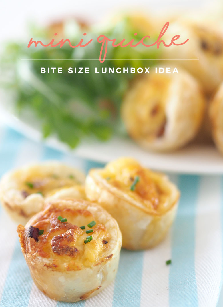 Cheese Amp Bacon Mini Quiches The Organised Housewife