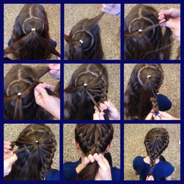 Quirky braid hairstyle for girls + step by step instructions - The ...