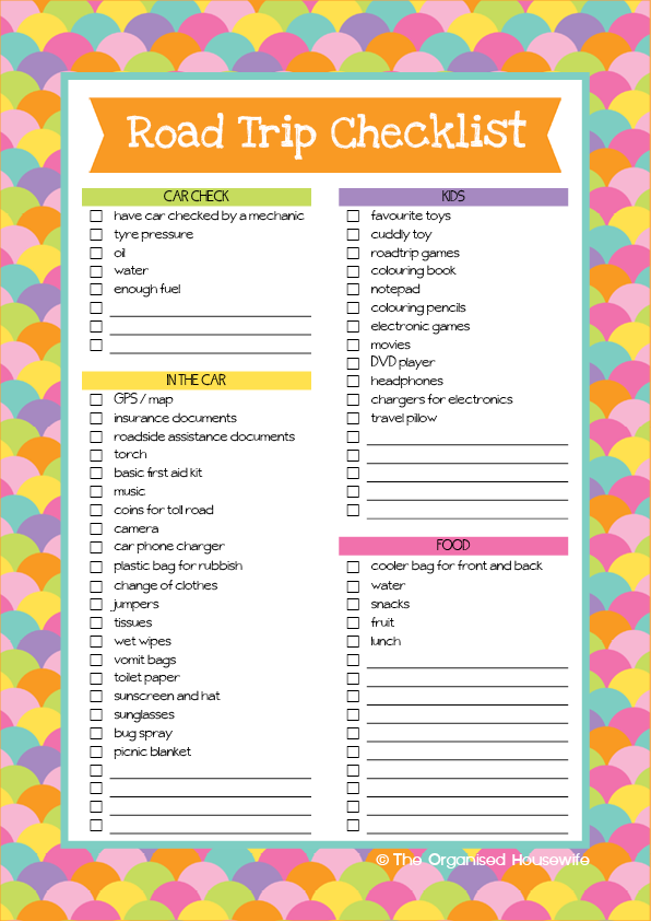 6 checklists to help you prepare for holidays packing and – Christmas Preparation Checklist