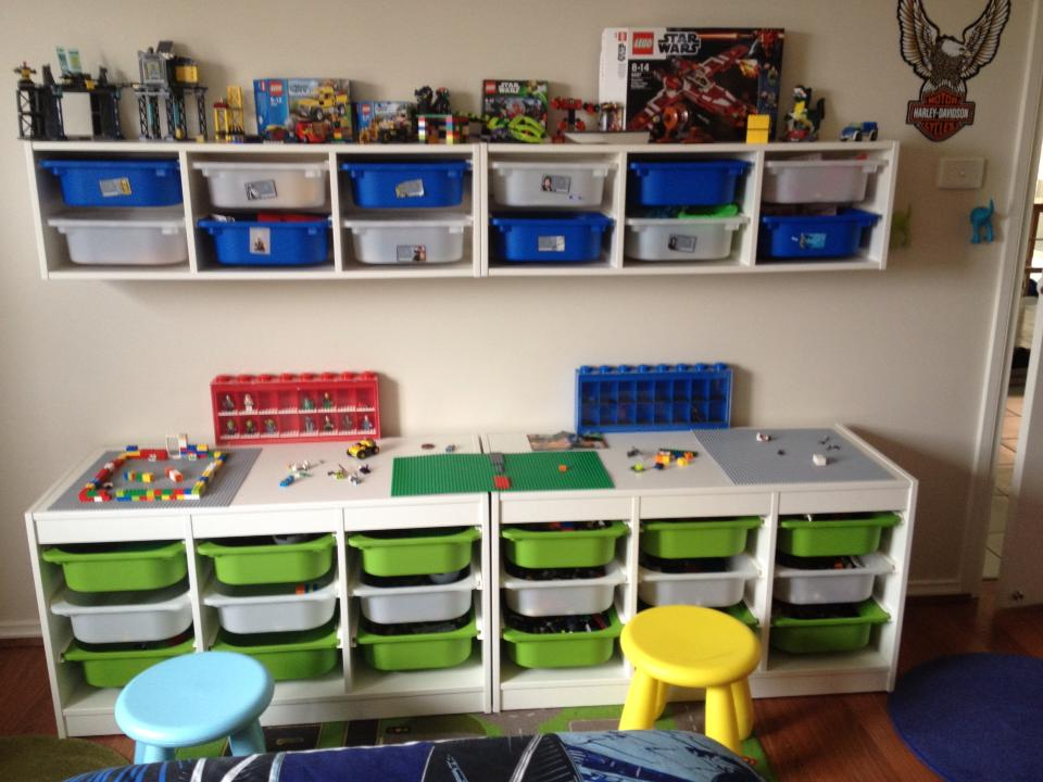 Super 40 Awesome Lego Storage Ideas The Organised Housewife Download Free Architecture Designs Rallybritishbridgeorg