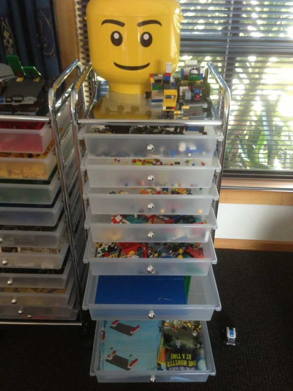 Shared By: Sabine G U2013 These Drawers Are Also Good For Storing The Books And  Lego Plates