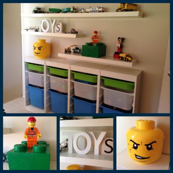 40 awesome lego storage ideas the organised housewife - Toy shelves ikea ...
