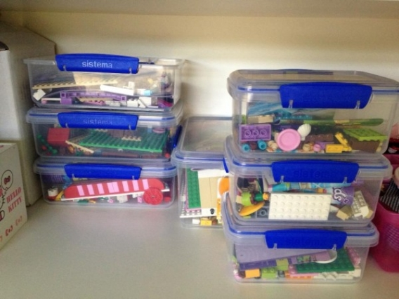 Shared By Tash L Sistema Plastic Boxes To Store Lego Pieces
