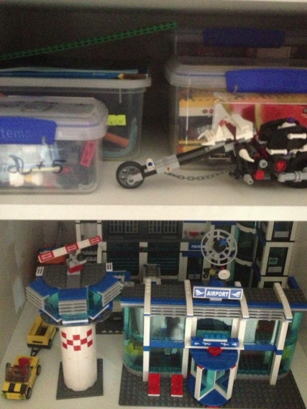 Shared by Sonia J u2013 Using the Sistema containers to store lego built lego storaged in daughters wardrobe & 40+ Awesome Lego Storage Ideas - The Organised Housewife