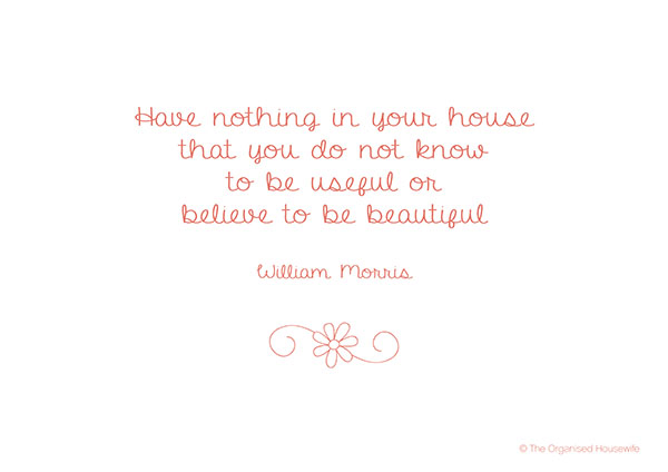 Quote Of The Month Free Printable May 2013 The Organised Housewife