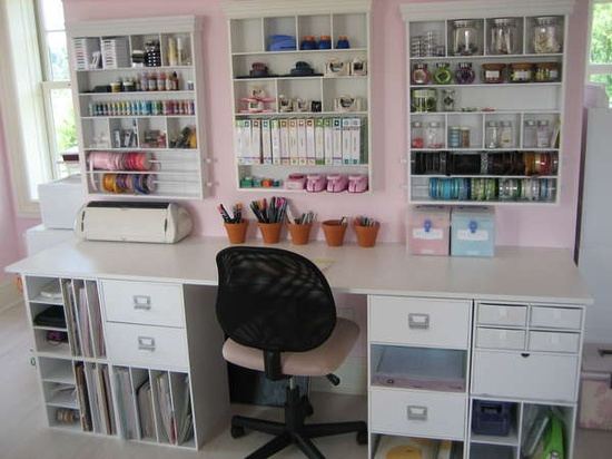 17 Amazing Craft Room Storage & Organising Ideas   The Organised ...