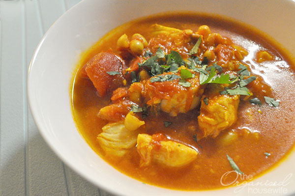{The Organised Housewife} Fish Stew