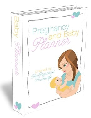 {The Organised Housewife} Pregnancy and Baby Planner