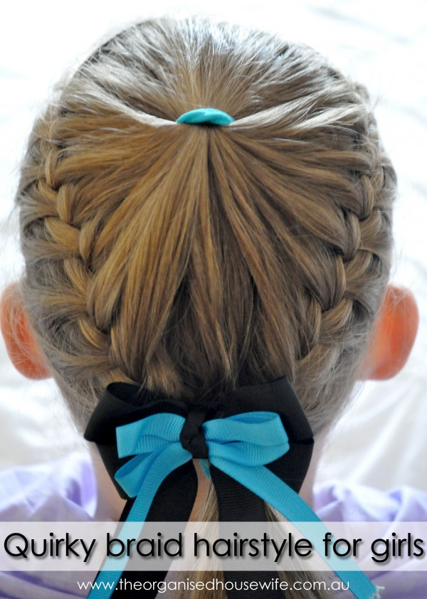 long hair step by step instructions for braids/quirky braid hairstyle ...